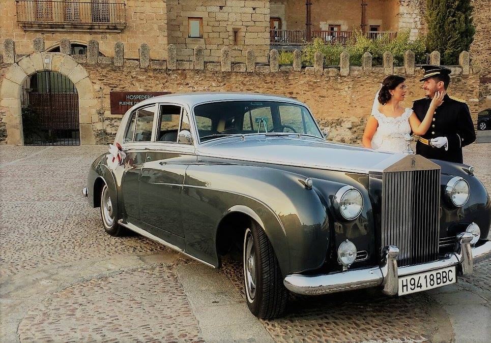 coches de boda en extremadura rolls royce