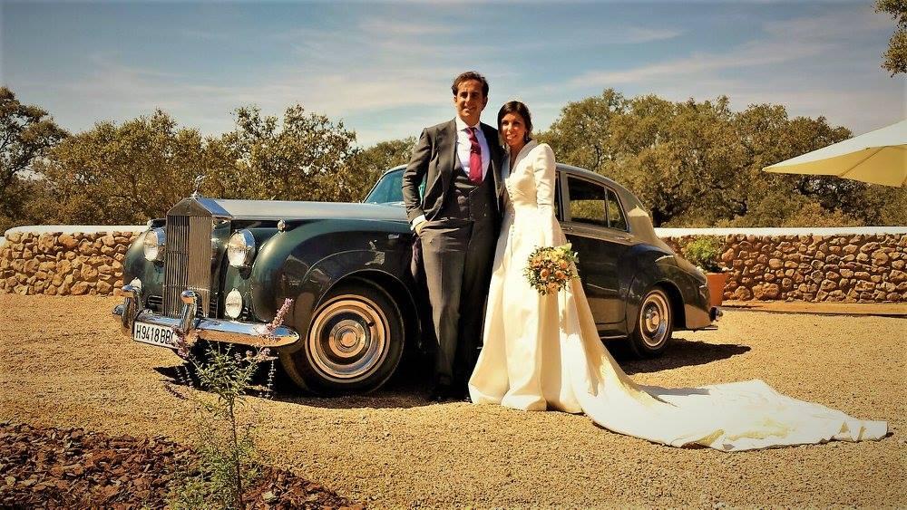 Los mejores coches de boda en Extremadura para novios exigentes