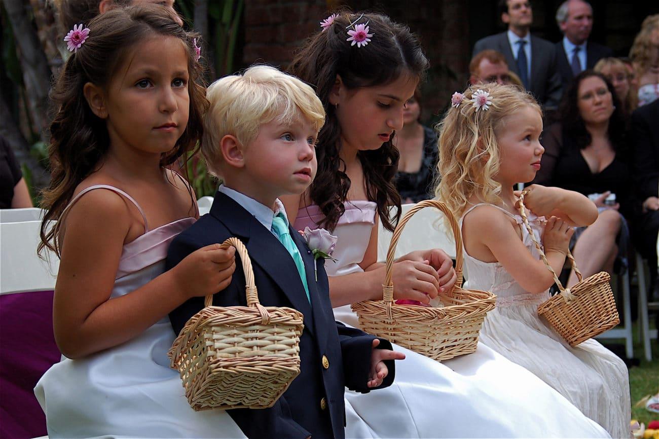 ¿Niños en tu boda? Claves top para disfrutar con su presencia