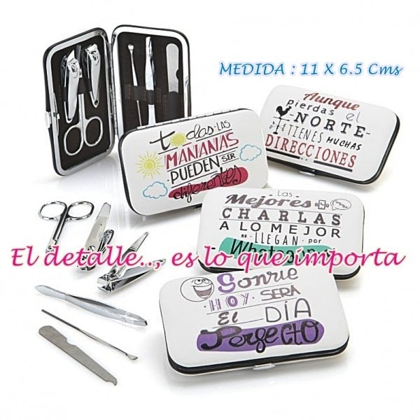 regalos originales boda set manicura