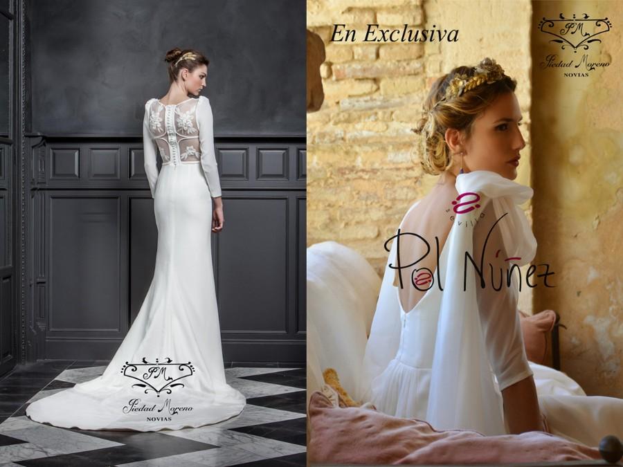 piedad moreno novias | ficha | vestidos de novia
