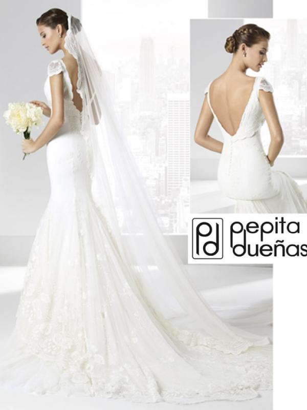 novias pepita dueñas | ficha | vestidos de novia